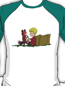 The Many Adventures of Hobbes T-Shirt