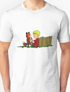 The Many Adventures of Hobbes Unisex T-Shirt
