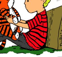 The Many Adventures of Hobbes Sticker