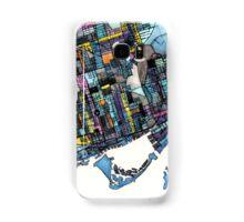 Abstract Map of Toronto Ontario Samsung Galaxy Case/Skin