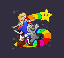 Follow The Rainbow Road! Womens Fitted T-Shirt