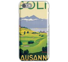 Lausanne Golf iPhone Case/Skin