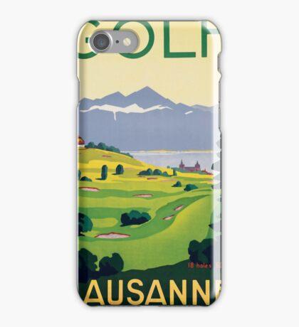 Lausanne Golf iPhone Case/Skin
