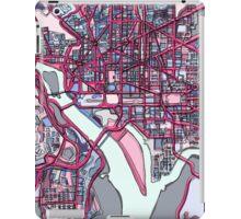 Abstract Map of Washington DC iPad Case/Skin