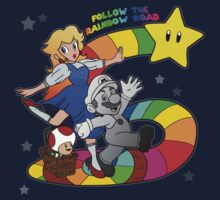 Follow The Rainbow Road! (Text) by JERYMI