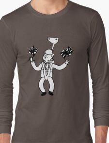 Boris On A Zipline Long Sleeve T-Shirt
