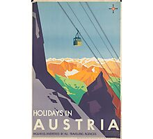 Austrian Cable Car Photographic Print