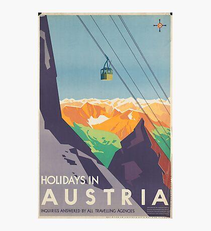 Austrian Cable Car Photographic Print