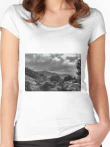 Hills Of Wayanad Women's Fitted Scoop T-Shirt