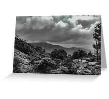 Hills Of Wayanad Greeting Card