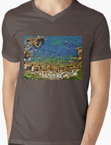 Into the Blue! Mens V-Neck T-Shirt
