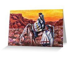 Wrapped In Tradition, Nomads Greeting Card