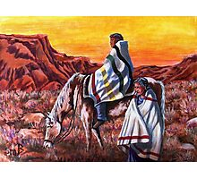 Wrapped In Tradition, Nomads Photographic Print