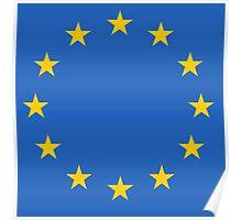 EU FLAG Poster