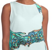 Abstract Map of Cape Cod Contrast Tank