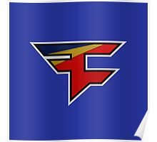 Faze 2.0 | Performance SS | Blue Background | High Quality! Poster