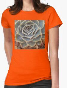 desert flower Womens Fitted T-Shirt