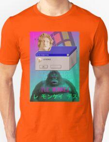 『LE MONKE』Vaporwave Aesthetics Unisex T-Shirt