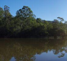 Brogo Dam (panoramic) Sticker
