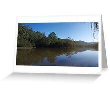 Brogo Dam (panoramic) Greeting Card