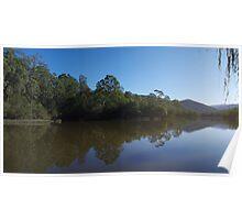 Brogo Dam (panoramic) Poster