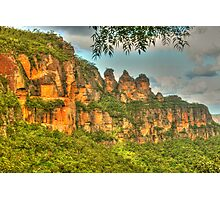 The Three Sisters ... with leaves Photographic Print