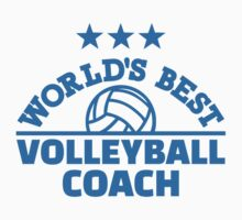 World's best volleyball coach by Designzz
