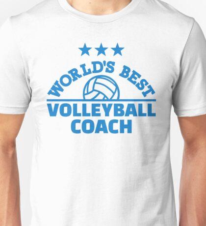 World's best volleyball coach Unisex T-Shirt