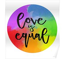 Love Is Equal Poster