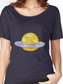 Planet Women's Relaxed Fit T-Shirt