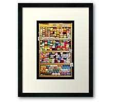 Wool Cabinet - Saint Petersburg - Russia Framed Print