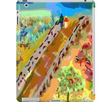 French Countryside, by Roger Pickar, Goofy America iPad Case/Skin