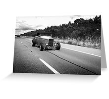 Cruisin' the Federal Hwy Greeting Card