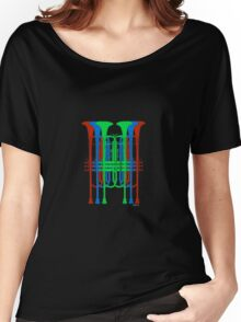 Six Trumpets red blue green Women's Relaxed Fit T-Shirt