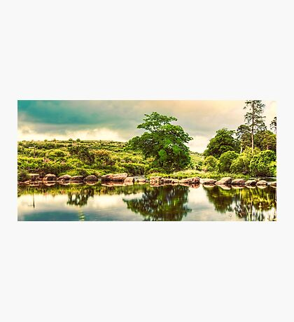 Stepping Stones. Photographic Print