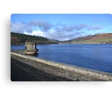 lady bower dam Canvas Print