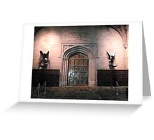 Harry Potter Entrance to the great hall Greeting Card