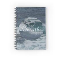 ocean - breathe Spiral Notebook