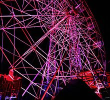 Ferriswheel of Death, Dark Mofo 2014  by eisblume