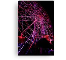 Ferriswheel of Death, Dark Mofo 2014  Canvas Print