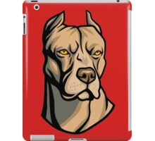 Pit Bull Head iPad Case/Skin