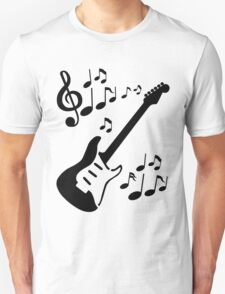 Rythmic Guitar Unisex T-Shirt