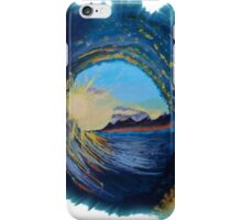 In the eye of the wave iPhone Case/Skin
