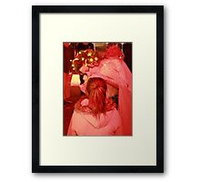 Dark Mofo 2014 Winter feist  Framed Print