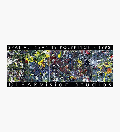 Spatial Insanity (1992) Photographic Print