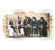 Nuns in Noto Poster