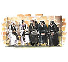 Nuns in Noto Photographic Print