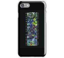 Spatial Insanity (1992) iPhone Case/Skin