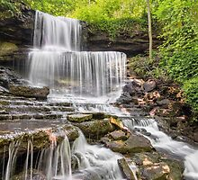 West Milton Cascades by Kenneth Keifer
