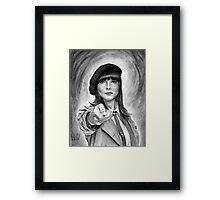 Doctor Who: Romana III (Juliet Landau) Framed Print